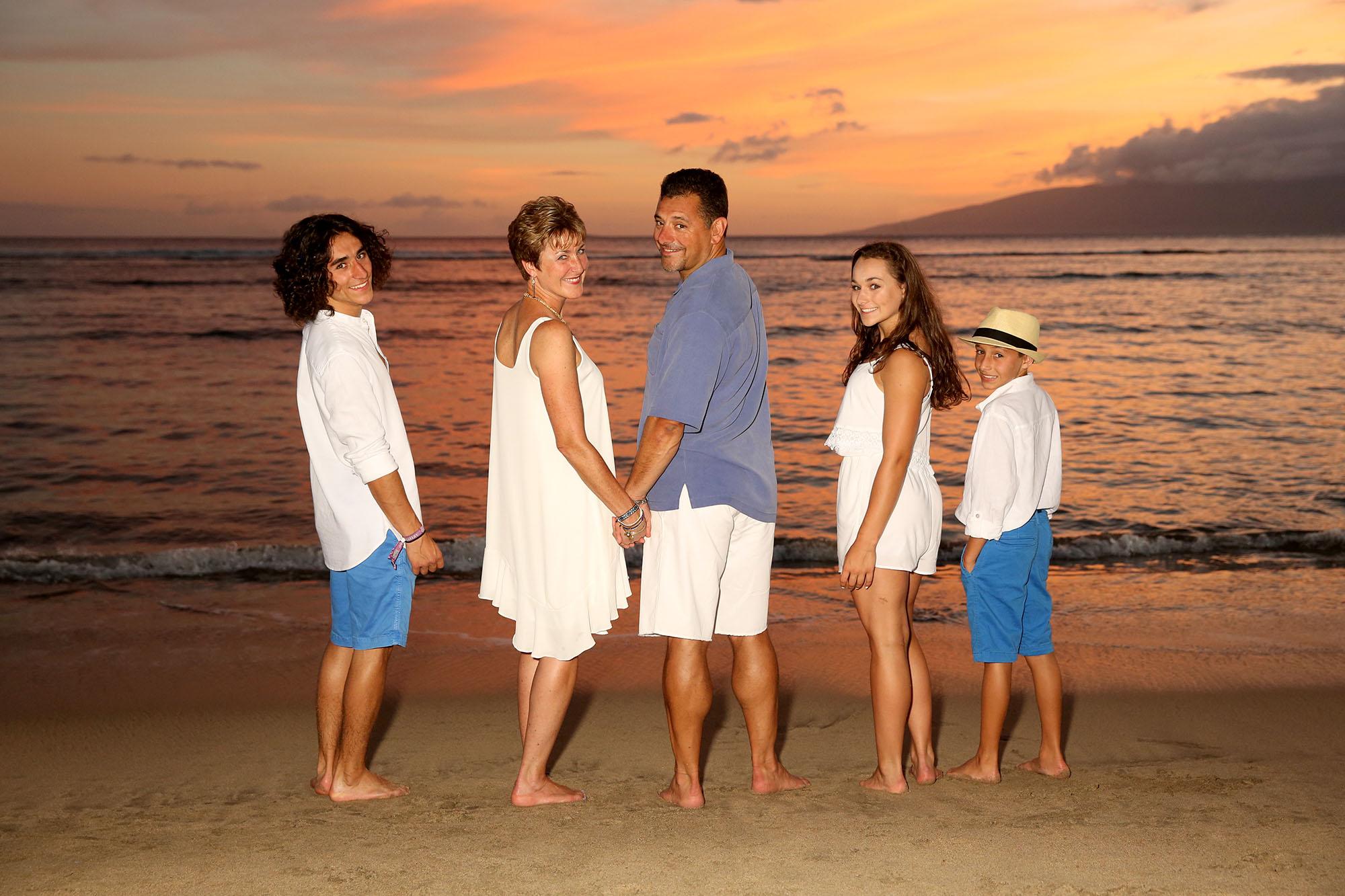 Maui Beach Portrait Sunset 015 08 L